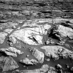 Nasa's Mars rover Curiosity acquired this image using its Right Navigation Camera on Sol 2570, at drive 982, site number 77