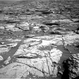 Nasa's Mars rover Curiosity acquired this image using its Right Navigation Camera on Sol 2570, at drive 994, site number 77