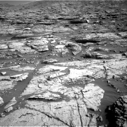 Nasa's Mars rover Curiosity acquired this image using its Right Navigation Camera on Sol 2570, at drive 1000, site number 77