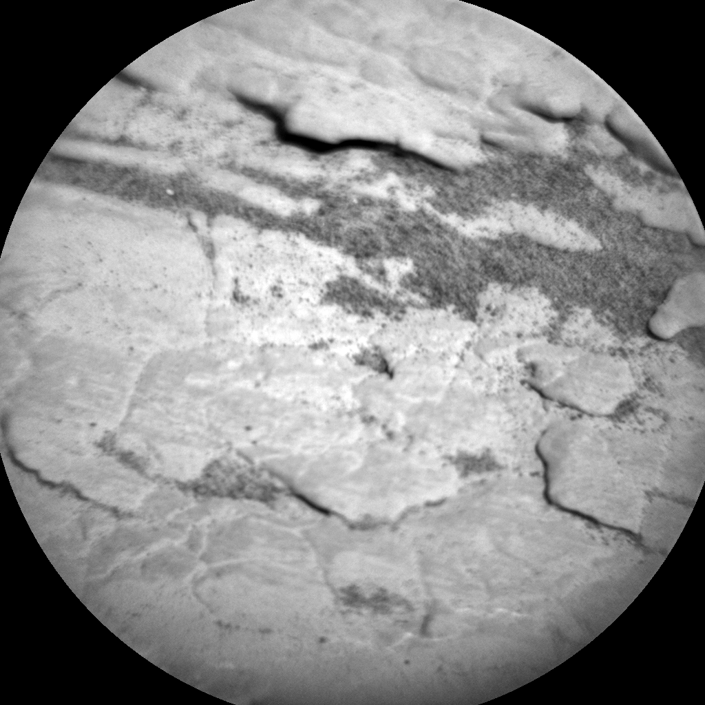Nasa's Mars rover Curiosity acquired this image using its Chemistry & Camera (ChemCam) on Sol 2570, at drive 910, site number 77