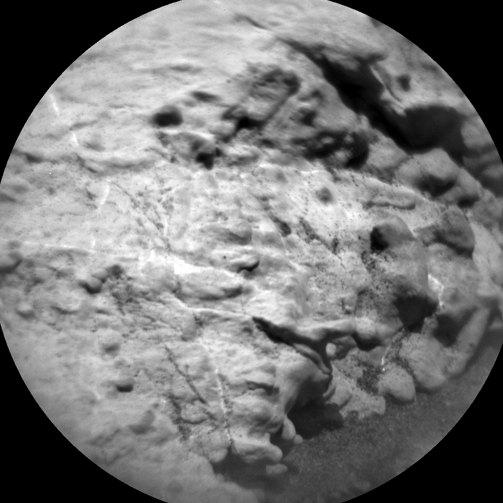Nasa's Mars rover Curiosity acquired this image using its Chemistry & Camera (ChemCam) on Sol 2571, at drive 1006, site number 77