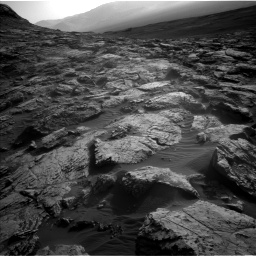 Nasa's Mars rover Curiosity acquired this image using its Left Navigation Camera on Sol 2572, at drive 1030, site number 77