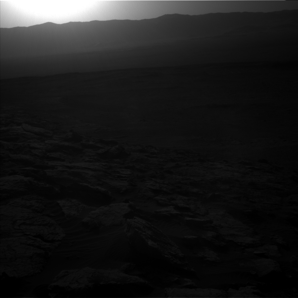 Nasa's Mars rover Curiosity acquired this image using its Left Navigation Camera on Sol 2572, at drive 1070, site number 77