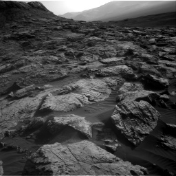 Nasa's Mars rover Curiosity acquired this image using its Right Navigation Camera on Sol 2572, at drive 1012, site number 77