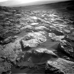 Nasa's Mars rover Curiosity acquired this image using its Right Navigation Camera on Sol 2572, at drive 1036, site number 77