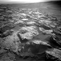 Nasa's Mars rover Curiosity acquired this image using its Right Navigation Camera on Sol 2572, at drive 1066, site number 77
