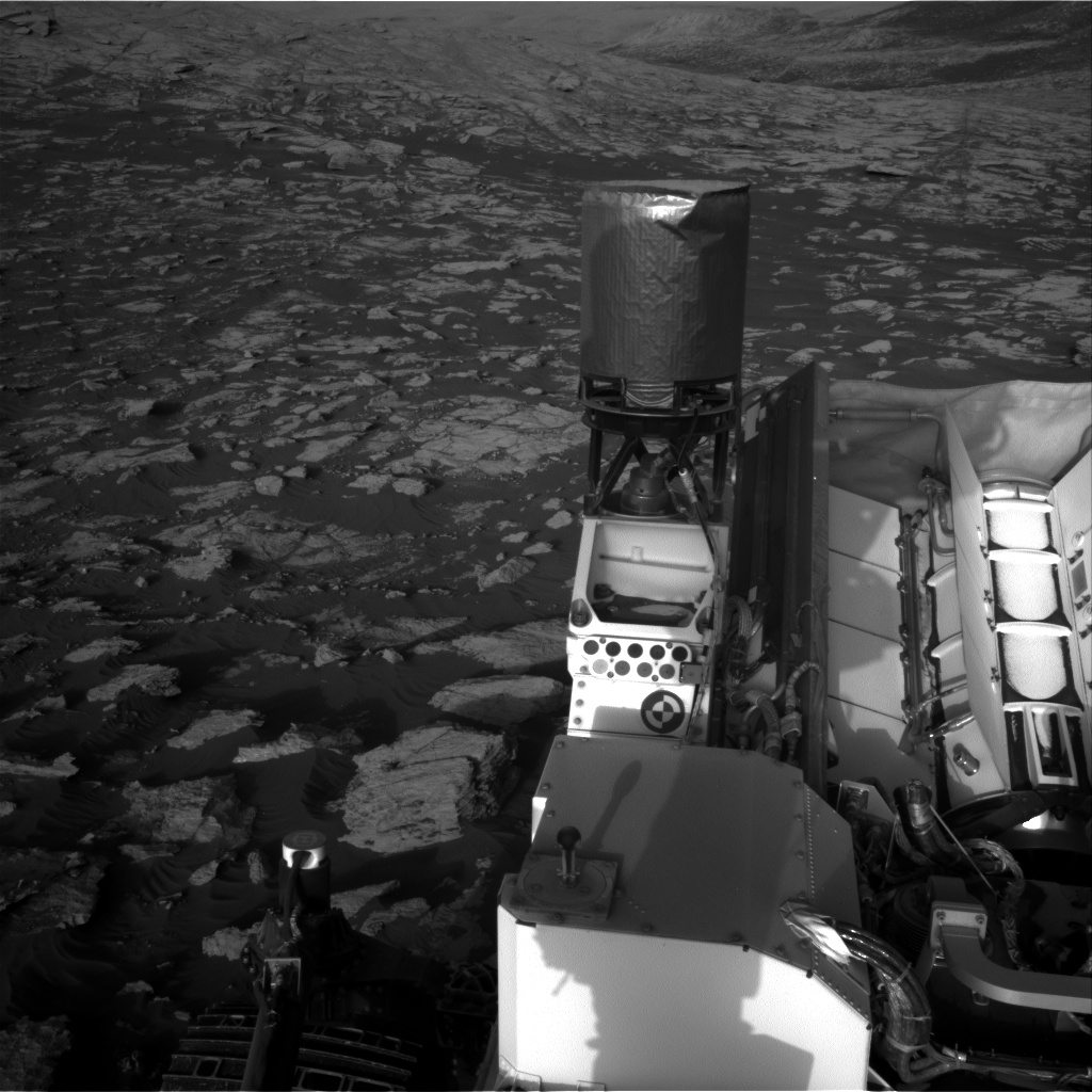 Nasa's Mars rover Curiosity acquired this image using its Right Navigation Camera on Sol 2572, at drive 1070, site number 77
