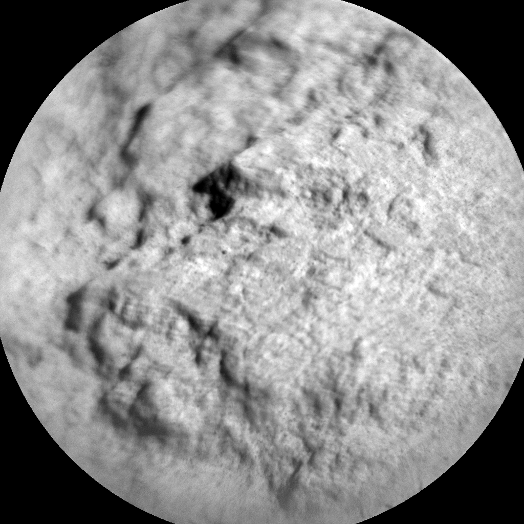 Nasa's Mars rover Curiosity acquired this image using its Chemistry & Camera (ChemCam) on Sol 2572, at drive 1006, site number 77