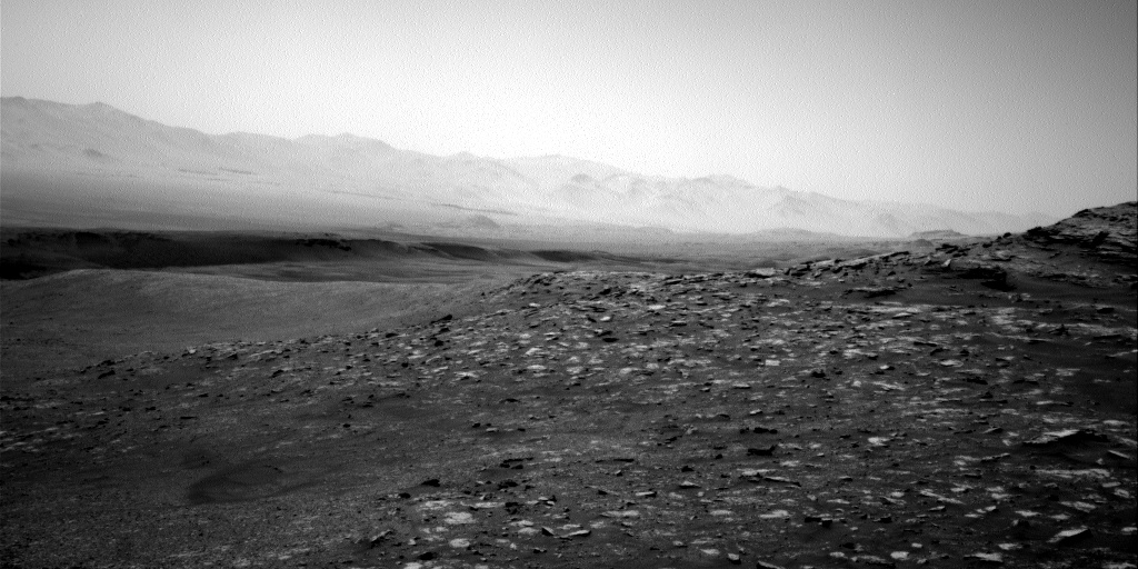 Nasa's Mars rover Curiosity acquired this image using its Right Navigation Camera on Sol 2573, at drive 1070, site number 77