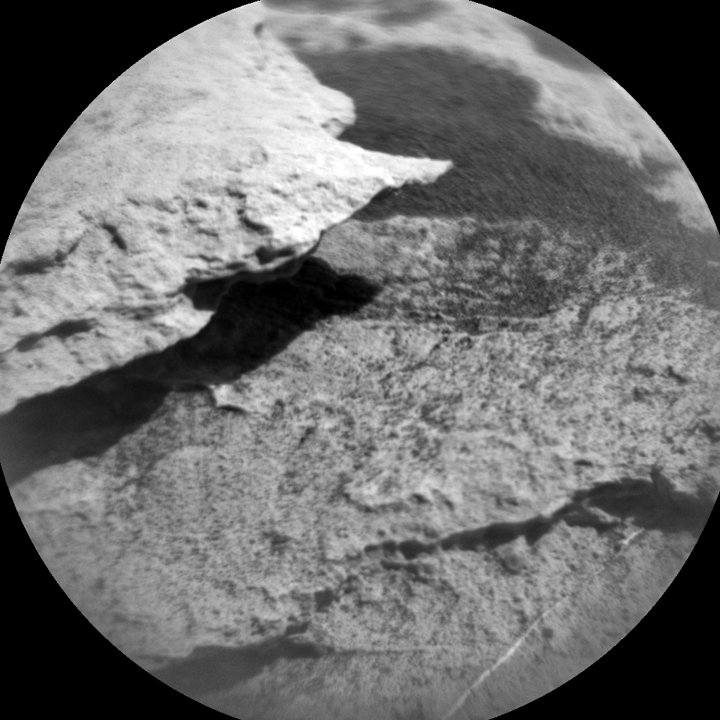 Nasa's Mars rover Curiosity acquired this image using its Chemistry & Camera (ChemCam) on Sol 2574, at drive 1070, site number 77