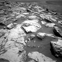 Nasa's Mars rover Curiosity acquired this image using its Right Navigation Camera on Sol 2575, at drive 1112, site number 77