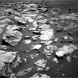 Nasa's Mars rover Curiosity acquired this image using its Right Navigation Camera on Sol 2575, at drive 1130, site number 77