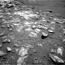 Nasa's Mars rover Curiosity acquired this image using its Right Navigation Camera on Sol 2575, at drive 1148, site number 77