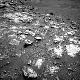 Nasa's Mars rover Curiosity acquired this image using its Right Navigation Camera on Sol 2575, at drive 1154, site number 77