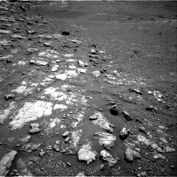 Nasa's Mars rover Curiosity acquired this image using its Right Navigation Camera on Sol 2575, at drive 1166, site number 77