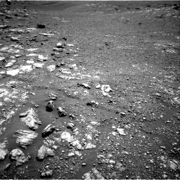Nasa's Mars rover Curiosity acquired this image using its Right Navigation Camera on Sol 2575, at drive 1172, site number 77