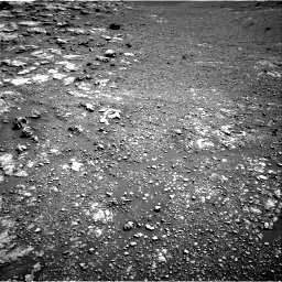 Nasa's Mars rover Curiosity acquired this image using its Right Navigation Camera on Sol 2575, at drive 1190, site number 77