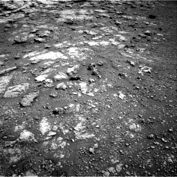 Nasa's Mars rover Curiosity acquired this image using its Right Navigation Camera on Sol 2575, at drive 1196, site number 77