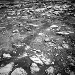 Nasa's Mars rover Curiosity acquired this image using its Right Navigation Camera on Sol 2575, at drive 1226, site number 77