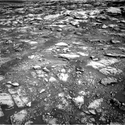 Nasa's Mars rover Curiosity acquired this image using its Right Navigation Camera on Sol 2575, at drive 1232, site number 77