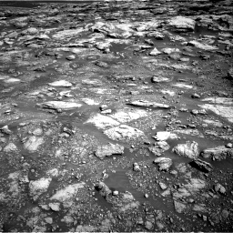 Nasa's Mars rover Curiosity acquired this image using its Right Navigation Camera on Sol 2575, at drive 1238, site number 77