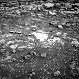 Nasa's Mars rover Curiosity acquired this image using its Right Navigation Camera on Sol 2575, at drive 1250, site number 77