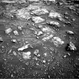 Nasa's Mars rover Curiosity acquired this image using its Right Navigation Camera on Sol 2575, at drive 1280, site number 77