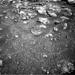Nasa's Mars rover Curiosity acquired this image using its Right Navigation Camera on Sol 2575, at drive 1298, site number 77