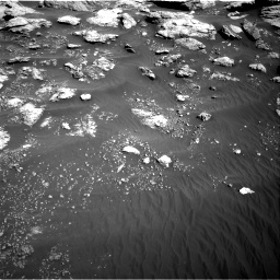 Nasa's Mars rover Curiosity acquired this image using its Right Navigation Camera on Sol 2575, at drive 1322, site number 77