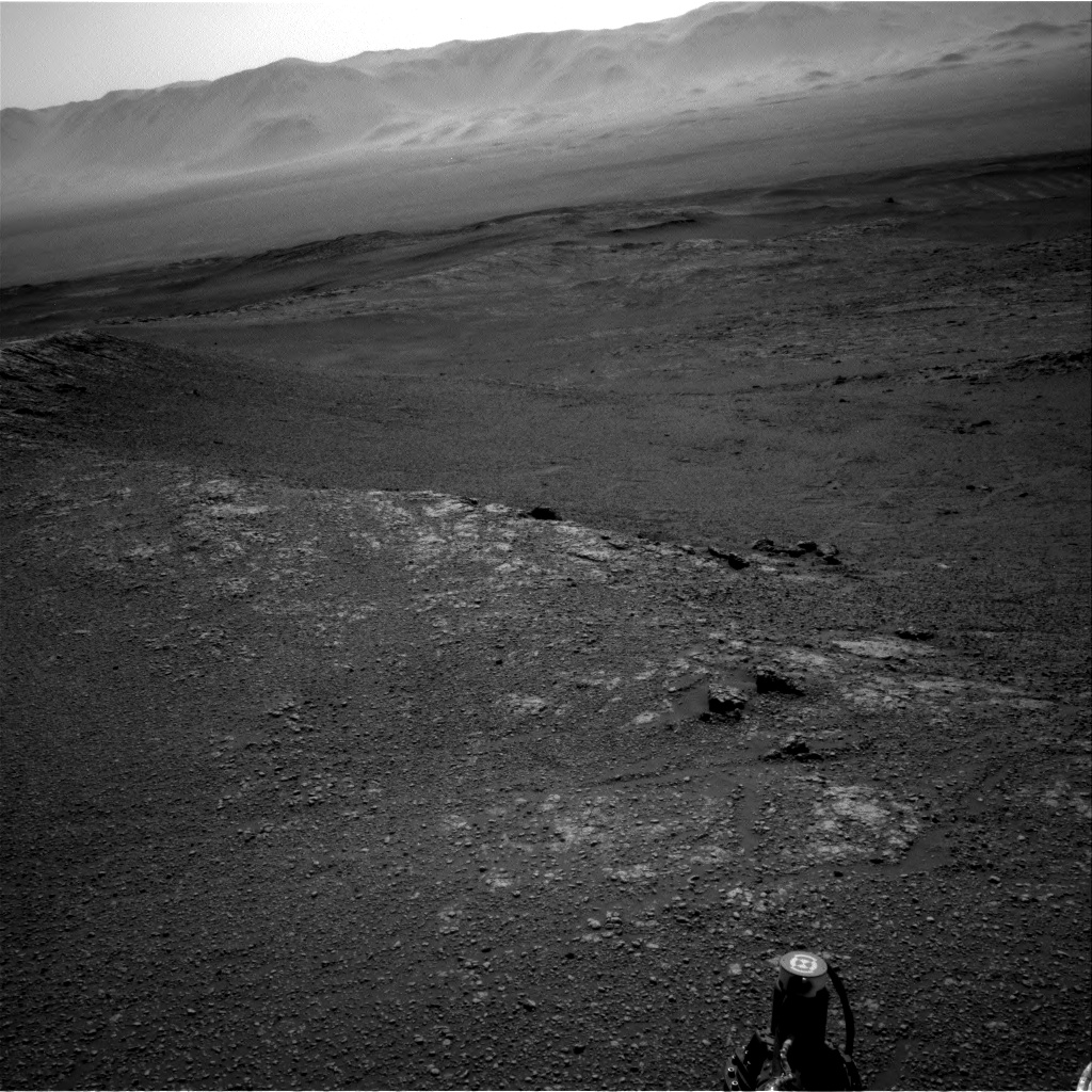 Nasa's Mars rover Curiosity acquired this image using its Right Navigation Camera on Sol 2575, at drive 1352, site number 77