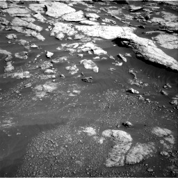 Nasa's Mars rover Curiosity acquired this image using its Right Navigation Camera on Sol 2575, at drive 1382, site number 77