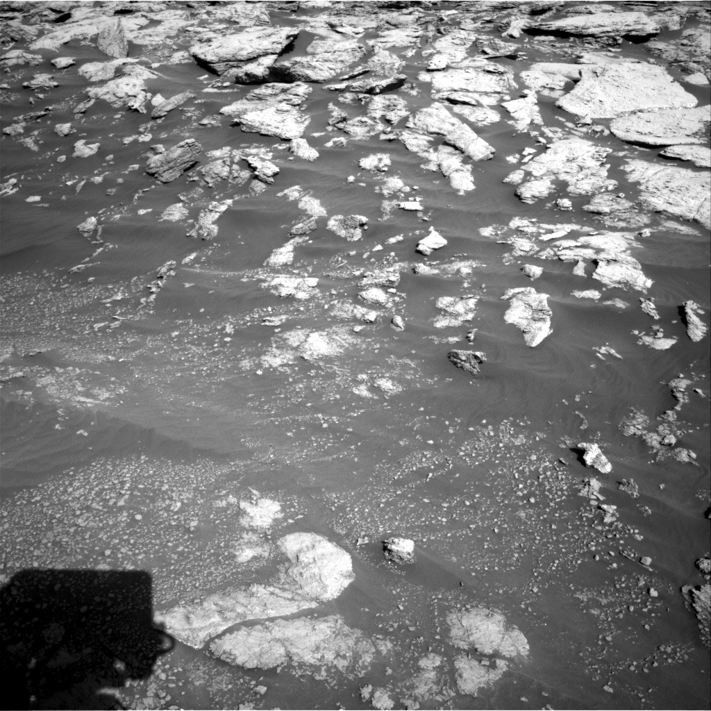 Nasa's Mars rover Curiosity acquired this image using its Right Navigation Camera on Sol 2575, at drive 1416, site number 77