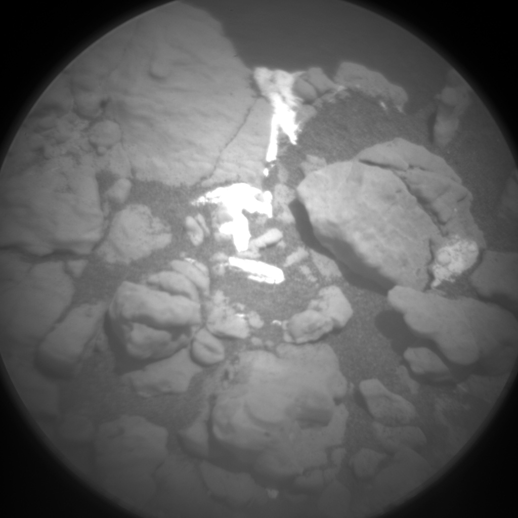 Nasa's Mars rover Curiosity acquired this image using its Chemistry & Camera (ChemCam) on Sol 2576, at drive 1416, site number 77