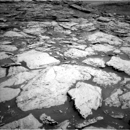 Nasa's Mars rover Curiosity acquired this image using its Left Navigation Camera on Sol 2577, at drive 1482, site number 77