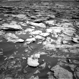 Nasa's Mars rover Curiosity acquired this image using its Right Navigation Camera on Sol 2577, at drive 1434, site number 77