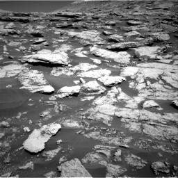 Nasa's Mars rover Curiosity acquired this image using its Right Navigation Camera on Sol 2577, at drive 1446, site number 77