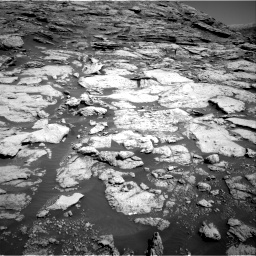 Nasa's Mars rover Curiosity acquired this image using its Right Navigation Camera on Sol 2577, at drive 1452, site number 77