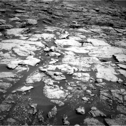 Nasa's Mars rover Curiosity acquired this image using its Right Navigation Camera on Sol 2577, at drive 1458, site number 77