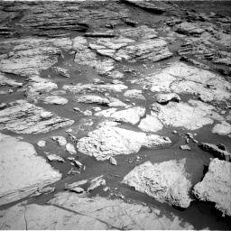 Nasa's Mars rover Curiosity acquired this image using its Right Navigation Camera on Sol 2577, at drive 1494, site number 77