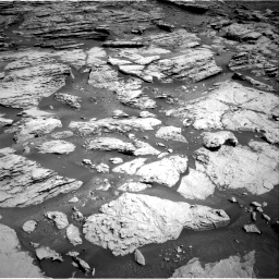 Nasa's Mars rover Curiosity acquired this image using its Right Navigation Camera on Sol 2577, at drive 1506, site number 77