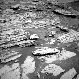 Nasa's Mars rover Curiosity acquired this image using its Right Navigation Camera on Sol 2577, at drive 1548, site number 77