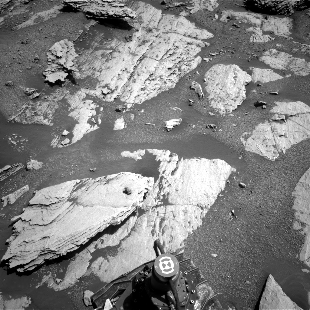Nasa's Mars rover Curiosity acquired this image using its Right Navigation Camera on Sol 2577, at drive 1560, site number 77