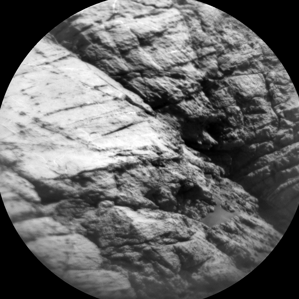 Nasa's Mars rover Curiosity acquired this image using its Chemistry & Camera (ChemCam) on Sol 2577, at drive 1416, site number 77