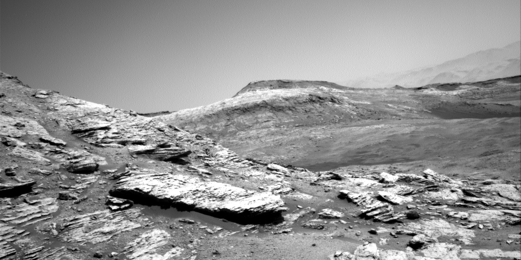 Nasa's Mars rover Curiosity acquired this image using its Right Navigation Camera on Sol 2578, at drive 1560, site number 77