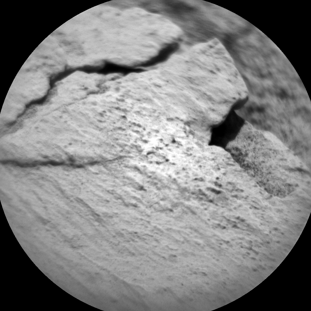 Nasa's Mars rover Curiosity acquired this image using its Chemistry & Camera (ChemCam) on Sol 2578, at drive 1560, site number 77