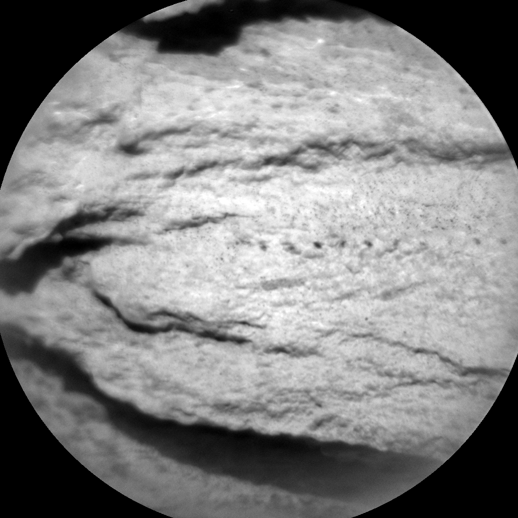 Nasa's Mars rover Curiosity acquired this image using its Chemistry & Camera (ChemCam) on Sol 2579, at drive 1560, site number 77
