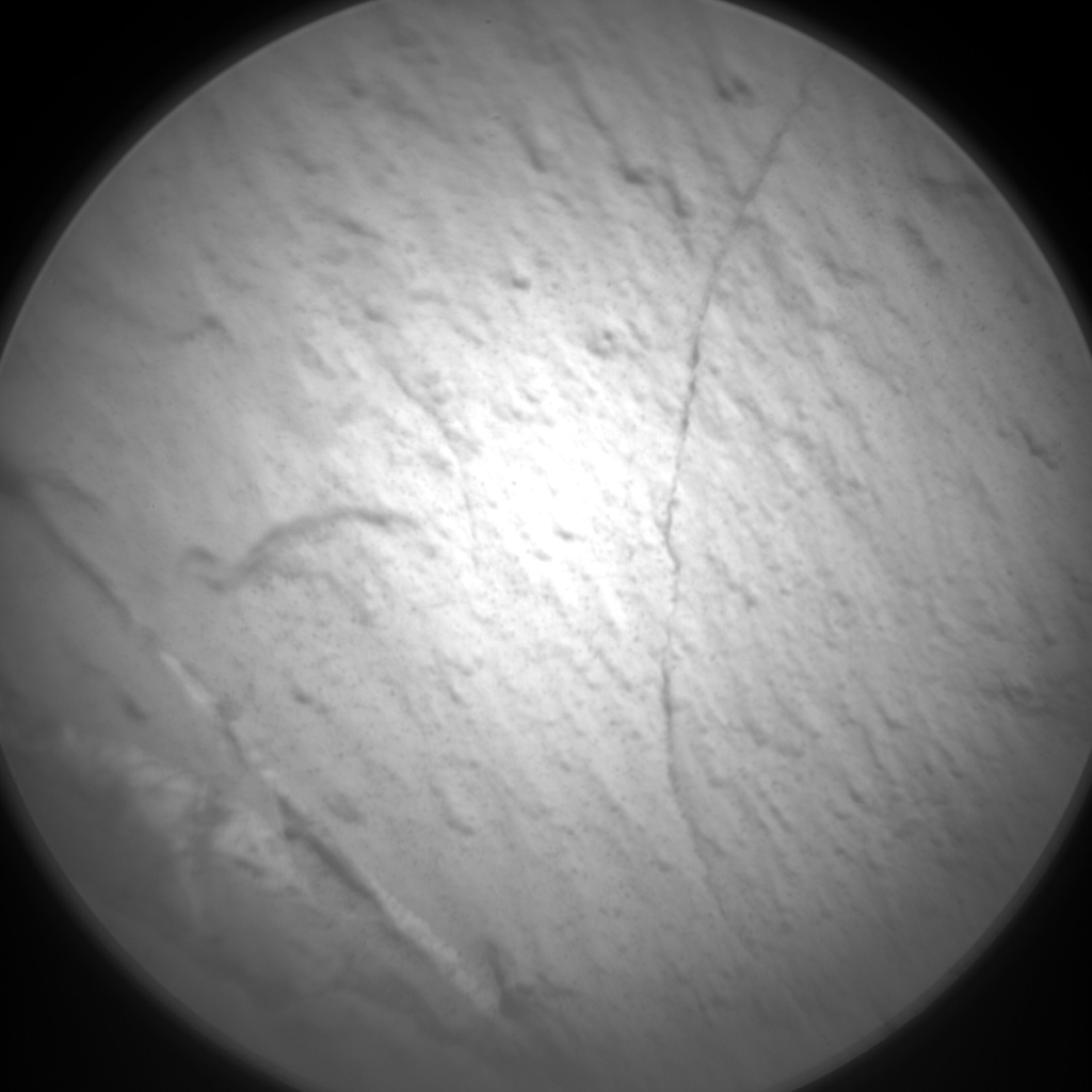 Nasa's Mars rover Curiosity acquired this image using its Chemistry & Camera (ChemCam) on Sol 2580, at drive 1560, site number 77