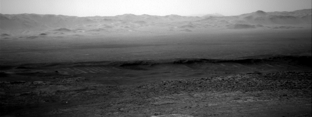 Nasa's Mars rover Curiosity acquired this image using its Right Navigation Camera on Sol 2580, at drive 1560, site number 77
