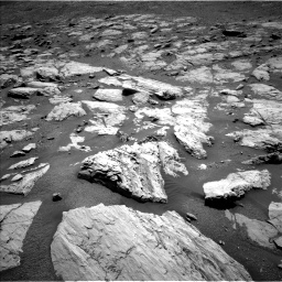 Nasa's Mars rover Curiosity acquired this image using its Left Navigation Camera on Sol 2582, at drive 1560, site number 77