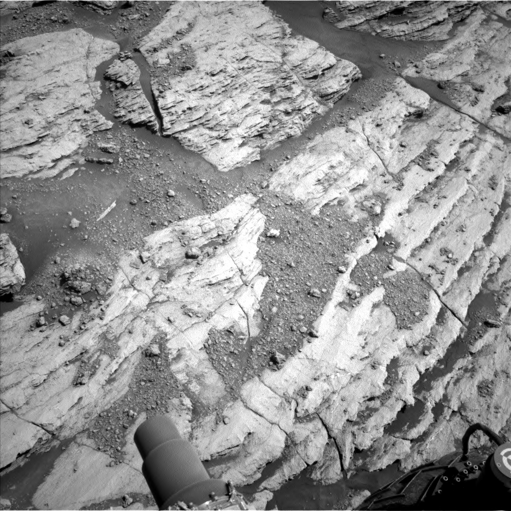 Nasa's Mars rover Curiosity acquired this image using its Left Navigation Camera on Sol 2582, at drive 1626, site number 77